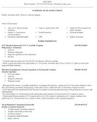 Military To Civilian Resume Examples New Awesome Collection Of Military To Civilian Resume Samples Unique