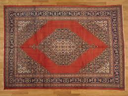 7 x 10 antique original persian tabriz oriental rug handmade mint