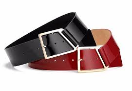 black genuine leather belt for women wide pin buckle leather belts women hugging smooth painting jpg