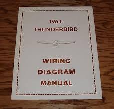 1964 ford thunderbird wiring diagram manual 64 9 00 picclick 1964 ford thunderbird wiring diagram manual 64