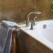 deck mounted tub faucet