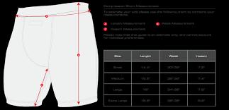 70 Complete Hayabusa Compression Shorts Size Chart