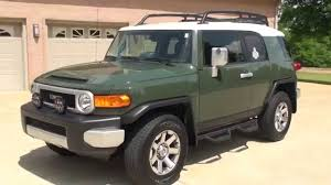 HD VIDEO 2014 TOYOTA FJ CRUISER ARMY GREEN FOR SALE SEE WWW ...