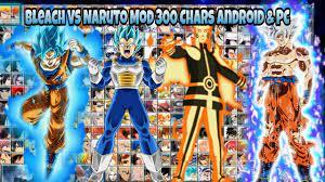 Bleach vs Naruto v3 MOD UPDATE 300 CHARS