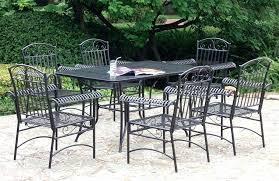black iron furniture. Black Iron Outdoor Chairs Metal Garden Seat Furniture