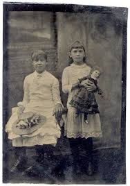 pioneer people 1800s. pioneer girl 1800s photography | holding large antique doll tintype photo ebay people r