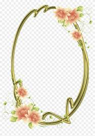 Frames For Photoshop Frames Png Oval Com Flores Frames For Photoshop