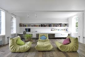 floor cushions. Bermondsey-Warehouse-Loft-by-HI-MACS®-Italia Floor Cushions D