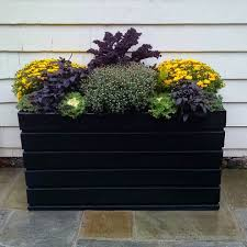 patio ideas large garden planters with trellis outdoor large outdoor planters for trees resin contemporary black foliage car finish chrysanthemums container