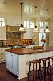 pendant lighting kitchen 5. Stem Mounted Pendants Complete Vintage Charleston Kitchen Blog Pertaining To Pendant Lights For Kitchens Design 5 Lighting