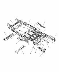 2014 chrysler town country frame rear diagram i2302126