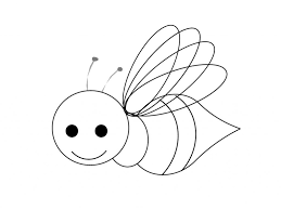 Những mẫu tranh tô màu con ong gần gũi nhất dành cho các bé