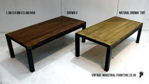 vintage industrial style coffee table melbourne