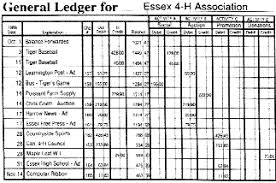small ledger books being a club treasurer