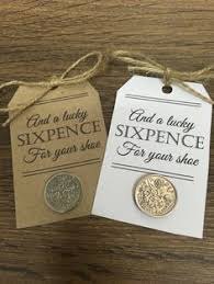 lucky sixpence bridal sixpence for your shoe by coingift wedding gift s father of