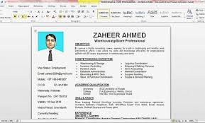 How To Make A Resume On Word Custom Create Resume In Microsoft Word Best Way To Make A Resume In Word
