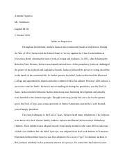 urban jungle essay amanda figueroa mr tumlinson english iii dc 3 pages make an impression essay
