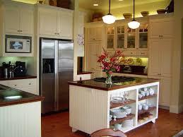 Kitchen With Hardwood Floors Cottage Kitchen With Kitchen Island Glass Panel In Stanwood Wa