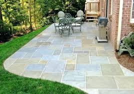 cost to install bluestone patio blue stone patio cost installation designs