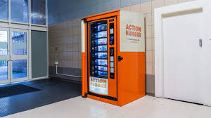 First Vending Machine Dispensed New Vending Machine Dispenses Essentials To UK's Homeless Kids News Article