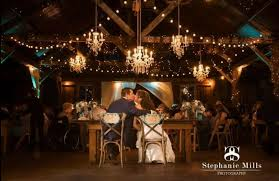 chandeliers with string lighting le lights rustic wedding