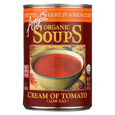 Amy S Light In Sodium Marinara Amys Soup Crm Tomato Org Ls Gf