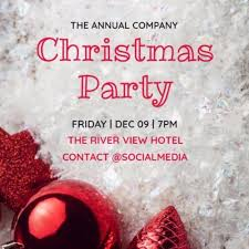 Company Christmas Party Invites Templates Christmas Party Invitations And Templates By Design Wizard