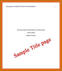 Apa Cover Sheet Template Apa Cover Page Template