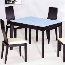 Extendable Wooden With Glass Top Modern Dining Table Sets Columbus - Dining room tables columbus ohio