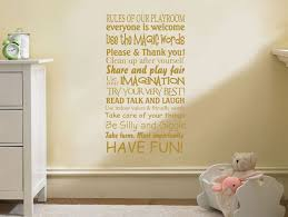 playroom wall art quote rules of our playroom children nursery wall transfer on wall art sayings for nursery with playroom wall art quote rules of our playroom children nursery wall