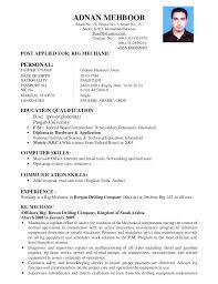 Demo Cv Format Demo Resume Format Resume Ideas Pro