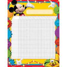 Mickey Mouse Clubhouse Incentive Chart Poster