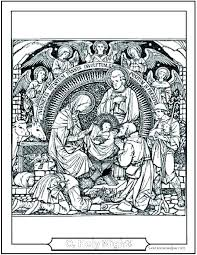 Free Nativity Coloring Pages Free Nativity Coloring Pages Nativity