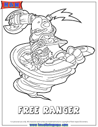 Free Coloring Pages Skylanders Swap Force Coloring Pages