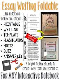 essay interactive notebook activities for middle and high school essay interactive notebook activities for middle and high school students