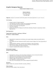resume graphic designer format