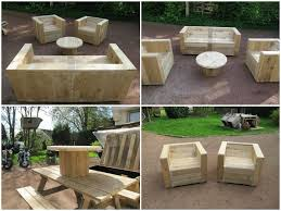Small Picture DIY cheap garden furniture Pallet tree houses Pallets garden