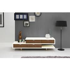 zick zack modern white tv stand  eurway furniture
