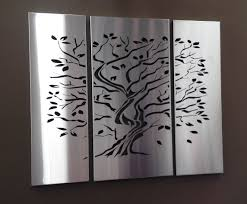 tree wall art tree of life laser cut screen in stainless steel on laser cut wall art metal with tree of life laser cut screen in stainless steel house home