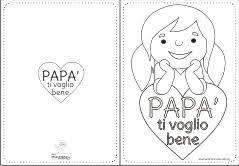 Festa Del Pap Maestra Mary Con Biglietto Di Buon Compleanno Da