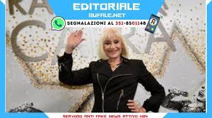 Ipotizzata la malattia di Raffaella Carrà, ma non è sano giornalismo questo