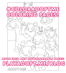 Последние твиты от adopt me! Adopt Me On Twitter The Last Two Coloring Pages Are Up On Our Blog Now We Ll Choose Our Favorites To Send Pets To Over The Next Week So Share Your Version