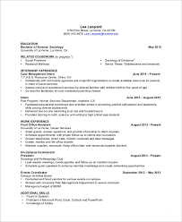 Here are some other helpful tips: Free 8 College Resume Templates In Pdf Ms Word