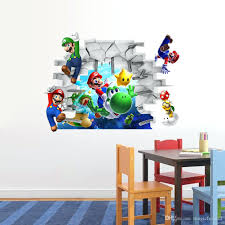 wall mural decals for kids cartoon wall art mural decor sticker kids room  nursery wall cartoon . wall mural decals for kids ...