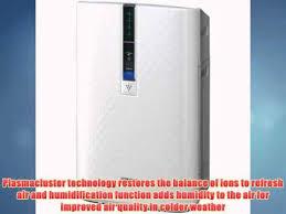 sharp kc 860u plasmacluster air purifier. sharp kc-850u plasmacluster air purifier with humidifying function kc 860u