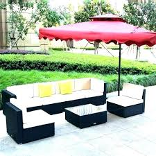 wood outdoor sectional furniture patio table and chairs sofa dining set with large size of clearance n54