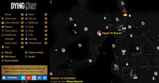 Dying Light The Following Paint Jobs Interactive Dying Light Map The Following General