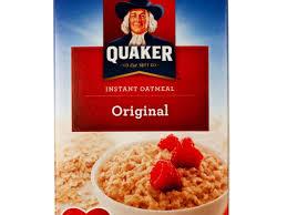 oatmeal plain instant