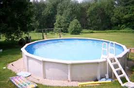 Backyard Swimming Pool Pool Backyard Ideas With Above Ground Pools Patio Kids