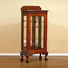collectible display cabinet small medium size of glass door cabinets with lights small glass display cabinet